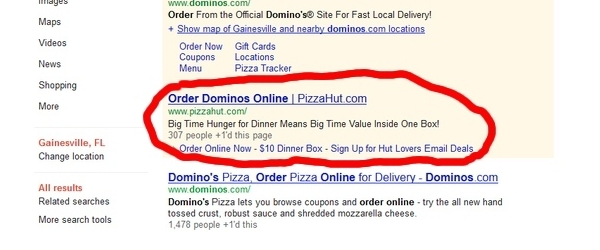 Example of Dynamic Keyword Insertion Gone Wrong