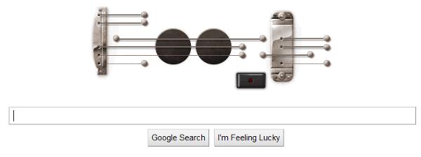 Google Logo Les Paul