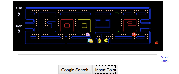 Google pays tribute to PAC-MAN's 30th Anniversary
